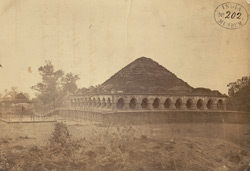 General view of the Rasa Mancha Temple, Bishnupur 1000333420